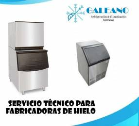 Servicio técnico para fabricadoras de hielo