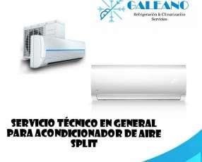 Servicio técnico para aires acondicionados split