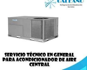 Técnico de aires centrales