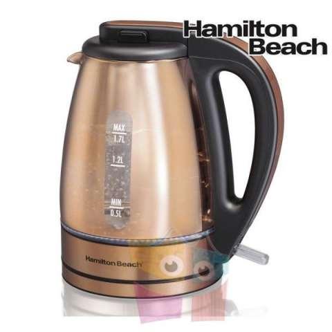 Hervidora de Vidrio Hamilton Beach Modelo 40866-CL