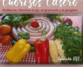 Chorizos caseros