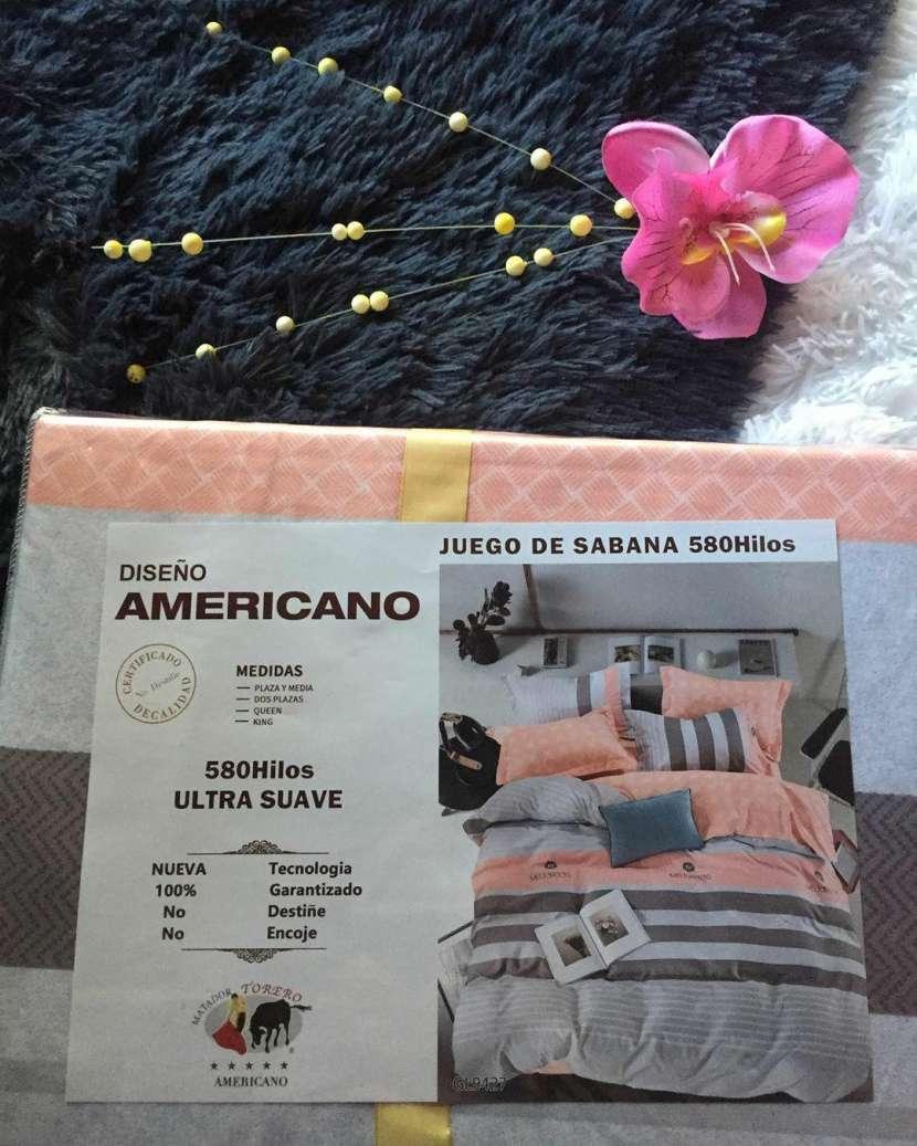 Juego de sábanas americanas - 0
