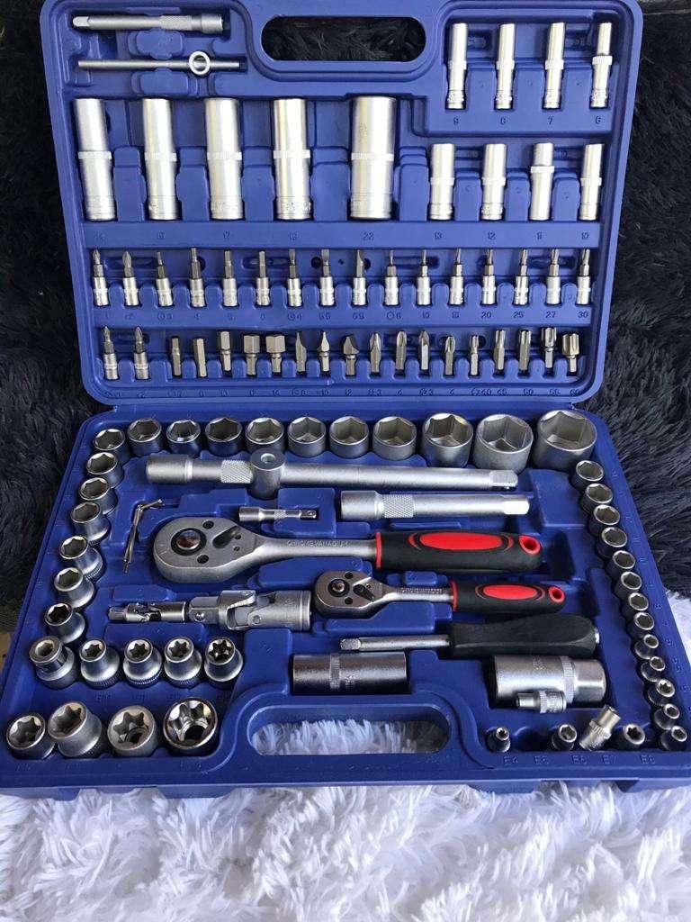 Juego de herramientas de Chrome Vanadium de 108 piezas - 0