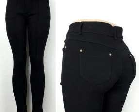 Pantalón cintura alta elastizado ️