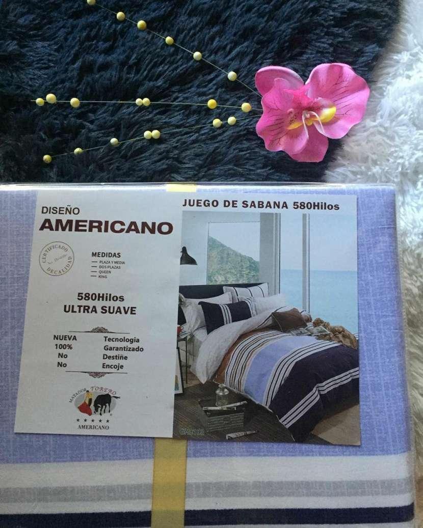Juego de sábanas americanas - 1