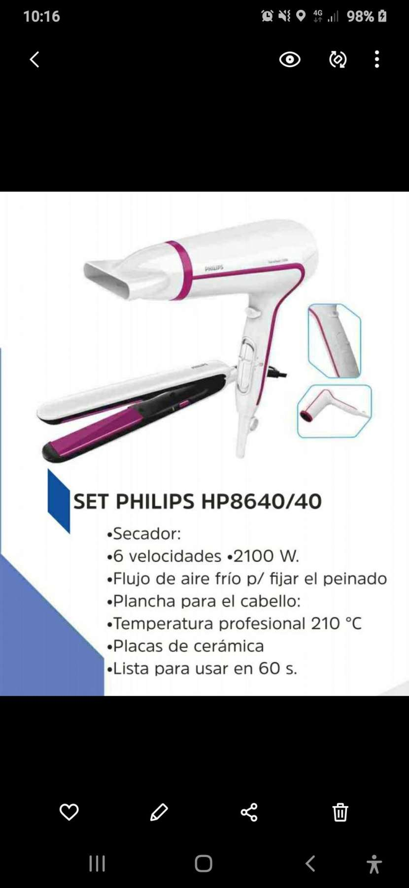 Kit Philips 8640 - 2