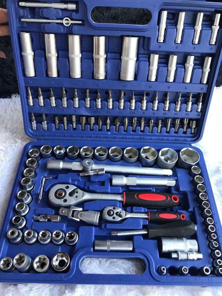 Juego de herramientas de Chrome Vanadium de 108 piezas - 3