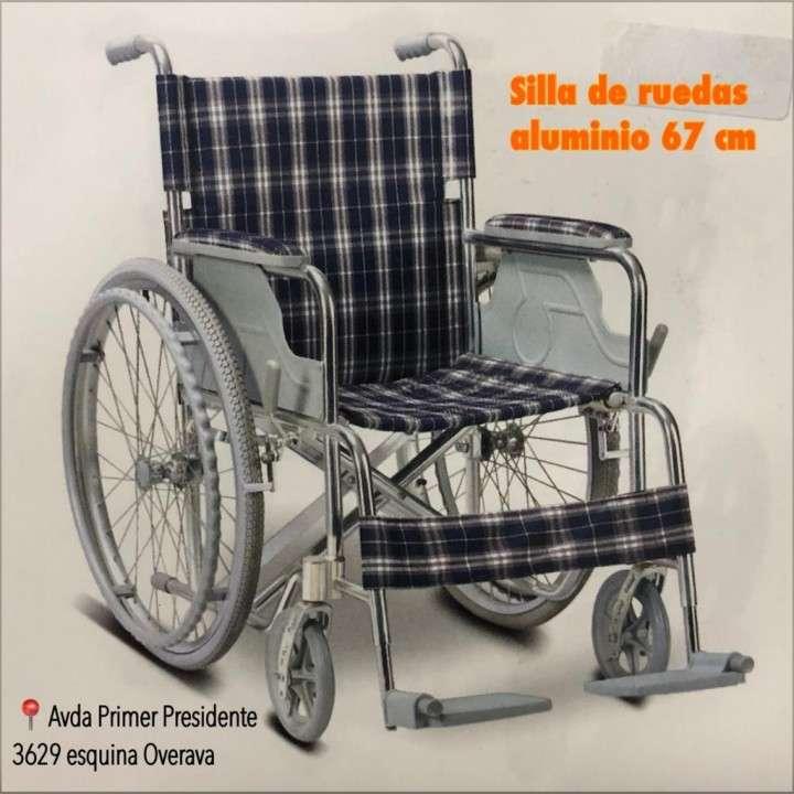 Silla de Ruedas en aluminio super liviana - 0