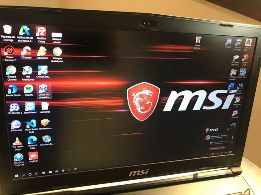 Notebook gamer MSI - 0