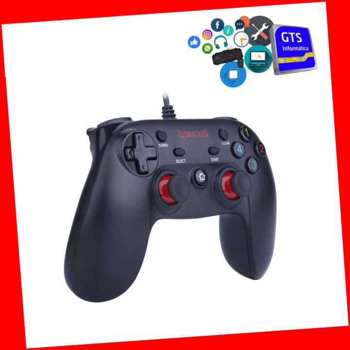 Control gamepad Saturn G807 para pc y PS3 - 0