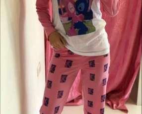 Pijama rosado stitch