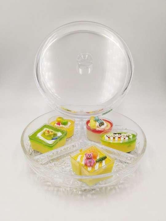 Porta dulce con tapa de acrilico - 1