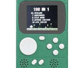 Consola Portátil Retro Pocket 2.4 pulgadas con 198 Juegos Clásicos