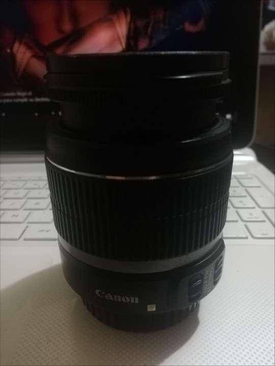 Cámara Profesional Canon 500D con lente 18-55mm - 3