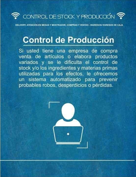 Sistema de control de stock ventas producción - 0