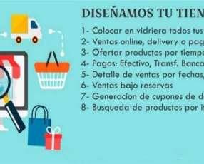 Páginas WEB y Tiendas E-Commerce