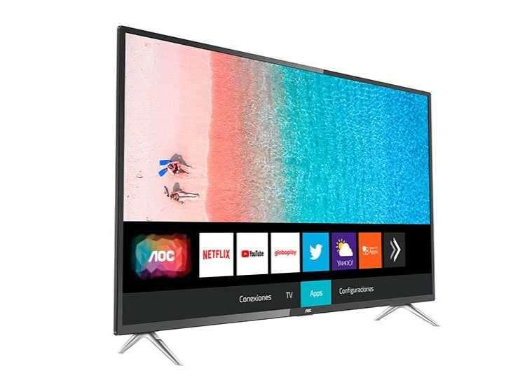 Smart TV AOC 55 pulgadas 4K - 0