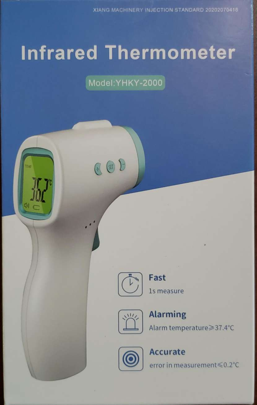 Termómetro infrarrojo - 0