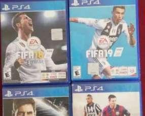 FIFA 14 15 18 y 19 para PS4