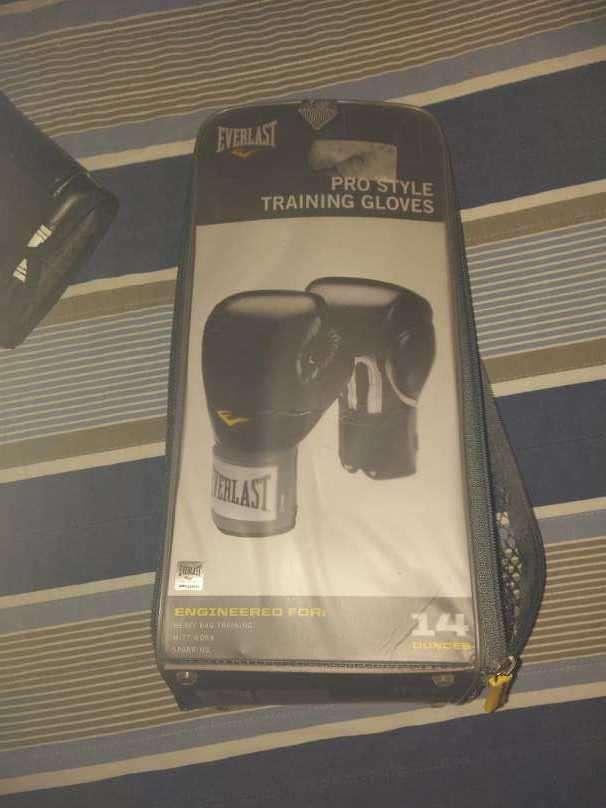 Guantes de Boxeo Everlast Negro - 0