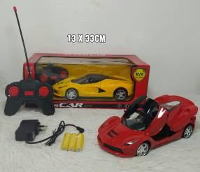 Autos recargables con control