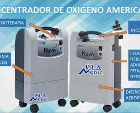Concentrador de oxigeno nuvo life