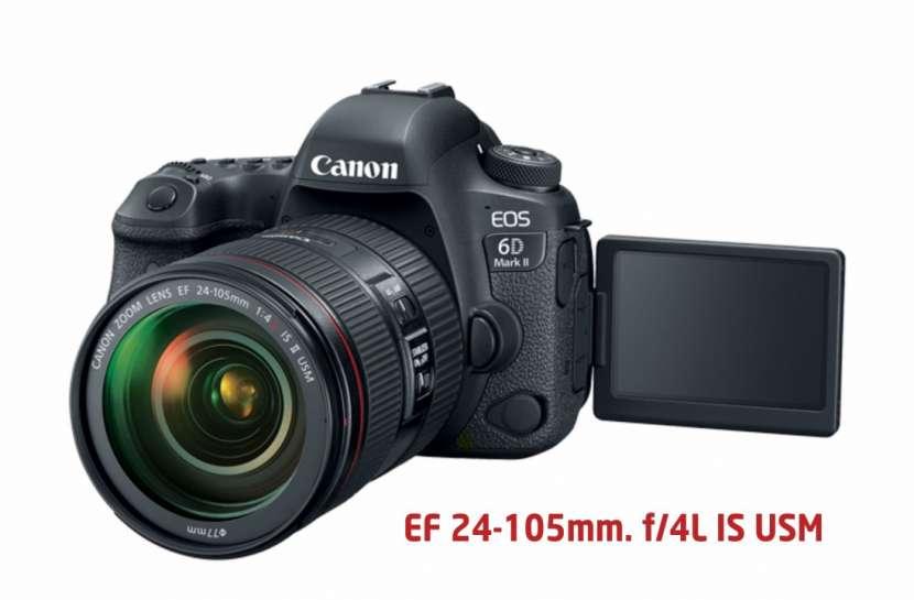 Canon 6D Mark II Kit de lente 24-105mm f/4 IS USM - 0