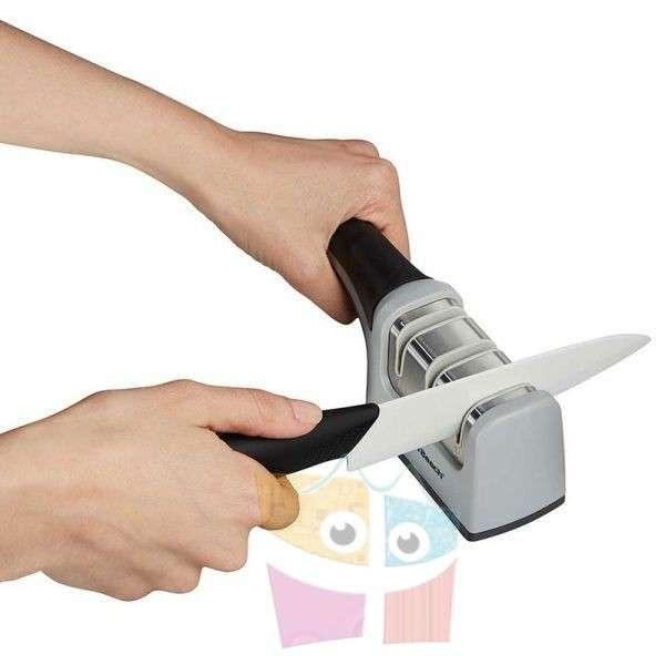 Afilador de cuchillos de 3 Etapas Hamilton Beach Modelo 86601 - 1