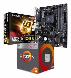 Combo Ryzen 2200g 8 gb b350