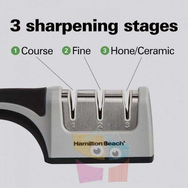 Afilador de cuchillos de 3 Etapas Hamilton Beach Modelo 86601 - 2