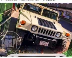 Hummer H1 imponente, única en el país