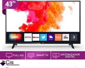TV Smart AOC de 43 pulgadas HD