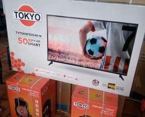 Smart TV Tokyo 4K de 50 pulgadas con karaoke