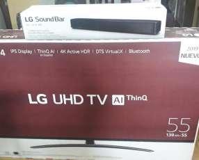 TV Smart 4K LG de 55 pulgadas
