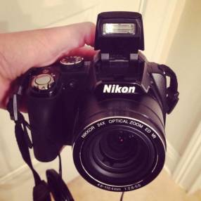 Cámara Nikon Coolpix P90 Semi profesional