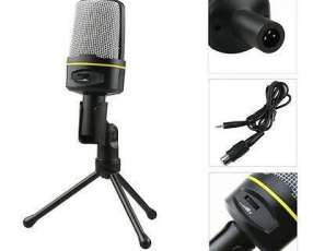 Micrófono multimedia con trípode
