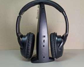 Auricular inalámbrico con radio fm