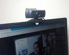 Webcam con micrófono