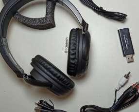Auriculares inalámbricos con radio FM Powerpack