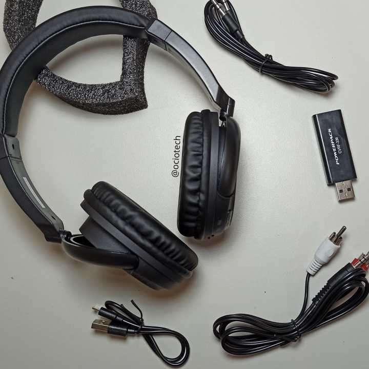 Auriculares inalámbricos con radio FM Powerpack - 0