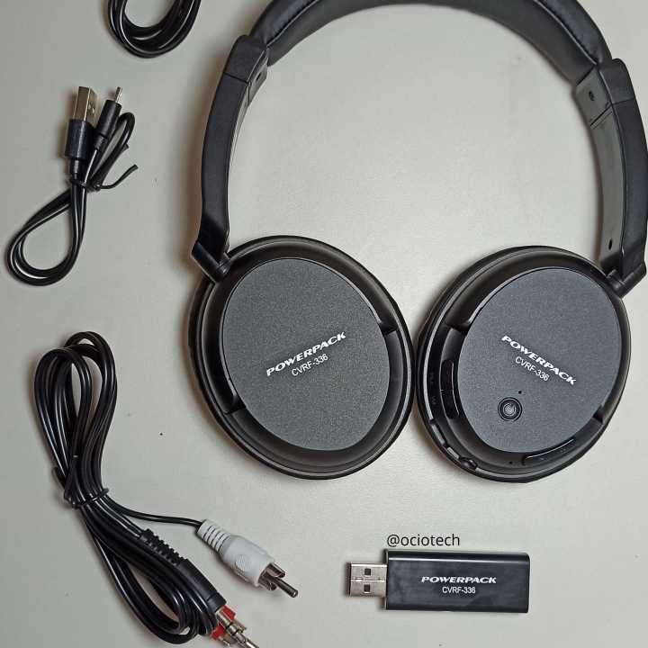 Auriculares inalámbricos con radio FM Powerpack - 1