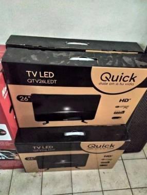 TV LED Quick de 26 pulgadas