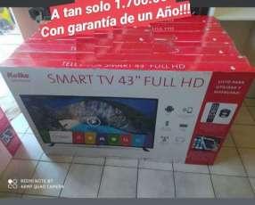 Smart TV de 43 pulgadas