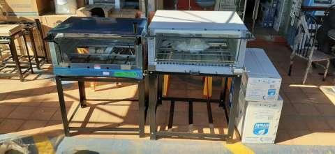 Hornos pizzeros Venancio 80x60 a gas - 2