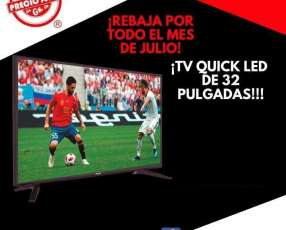 TV LED Quick 32 pulgadas