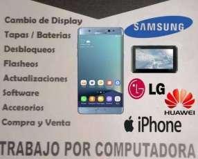Servicio técnico celulares y tabletas
