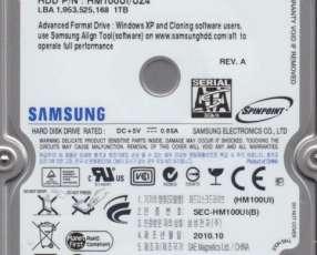 Samsung 1 TB SATA 2.5 disco duro para notebook