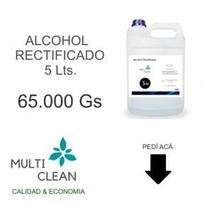 Alcohol rectificado