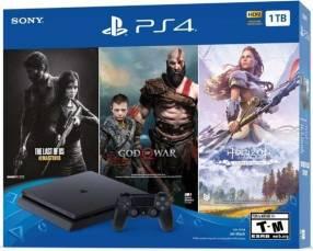 Playstation 4 slim 1 tera con 3 juegos