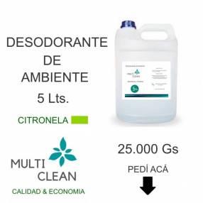 Desodorante de ambiente limpia y aromatiza